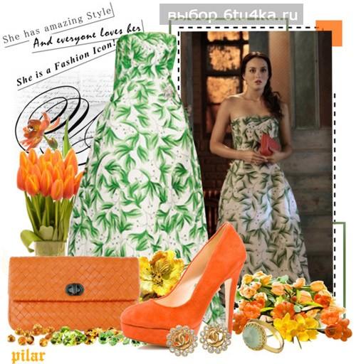 Платье для гостьи на свадьбе: ярко!