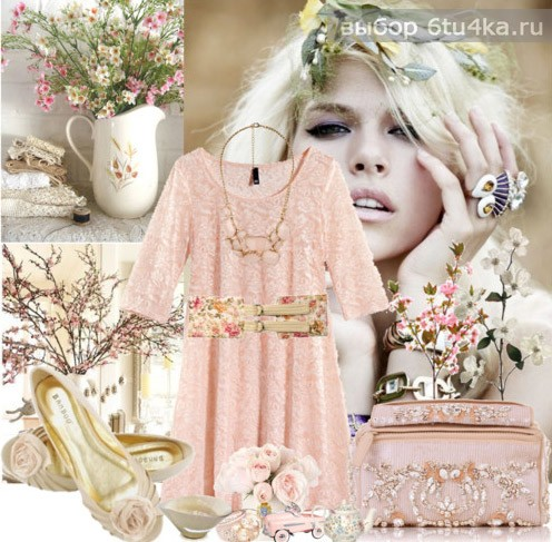 Весна - пора цветов и нежно-розового
