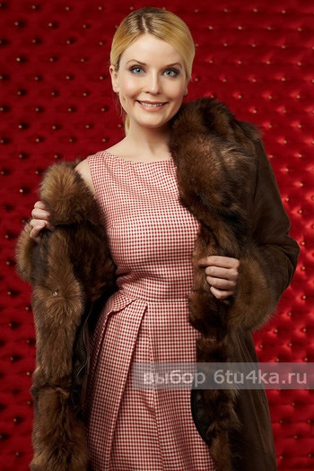 Татьяна Арно в рекламе дубленок