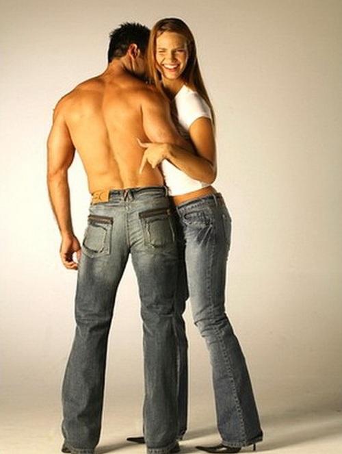 выбрать джинсы мужчине