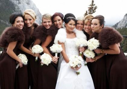 Что одеть на свадьбу зимой картинки